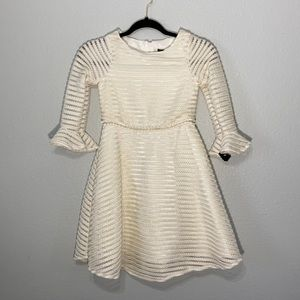 Dorissa Girl bell sleeve dress